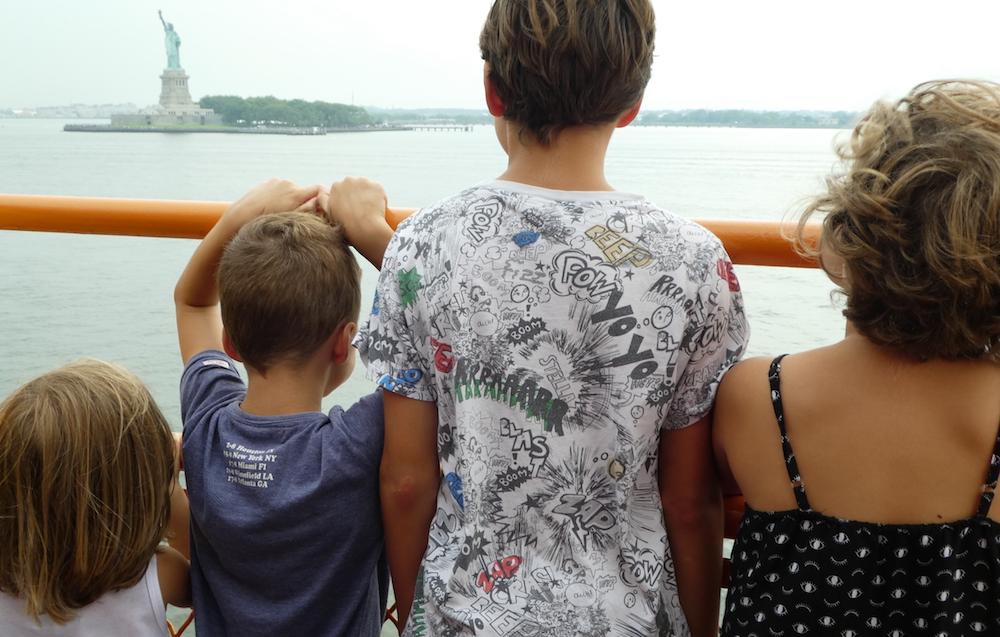 Doen in New York met kinderen - Staten Island Ferry 01