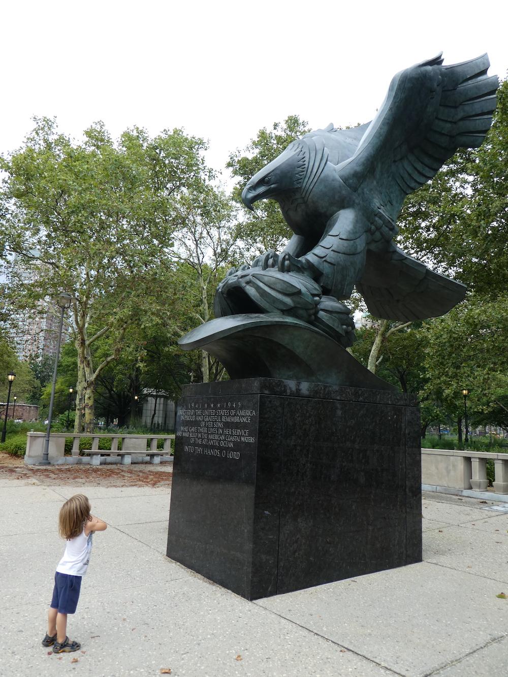 Doen in New York met kinderen - Battery Park