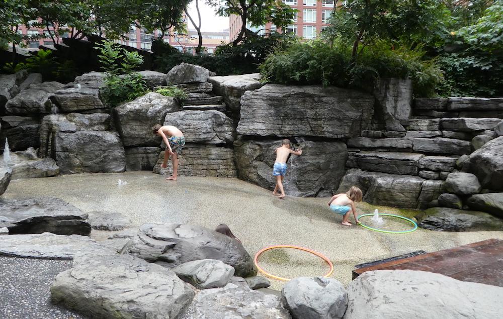 Doen in New York met kinderen - Teardrop Park 02