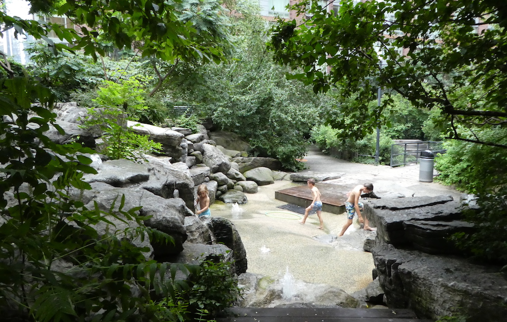 Doen in New York met kinderen - Teardrop Park