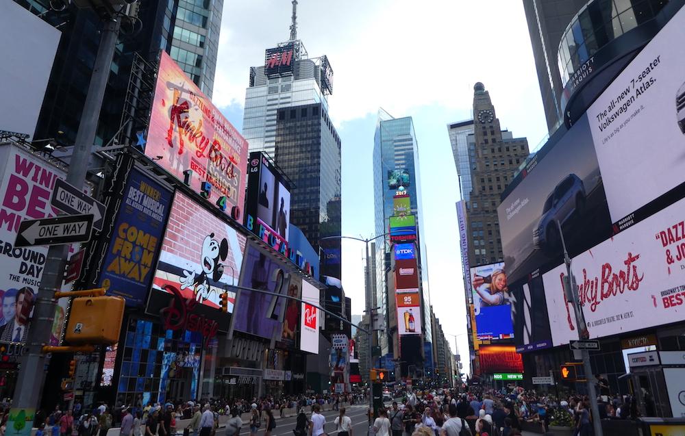 Doen in New York met kinderen - Times Square 01