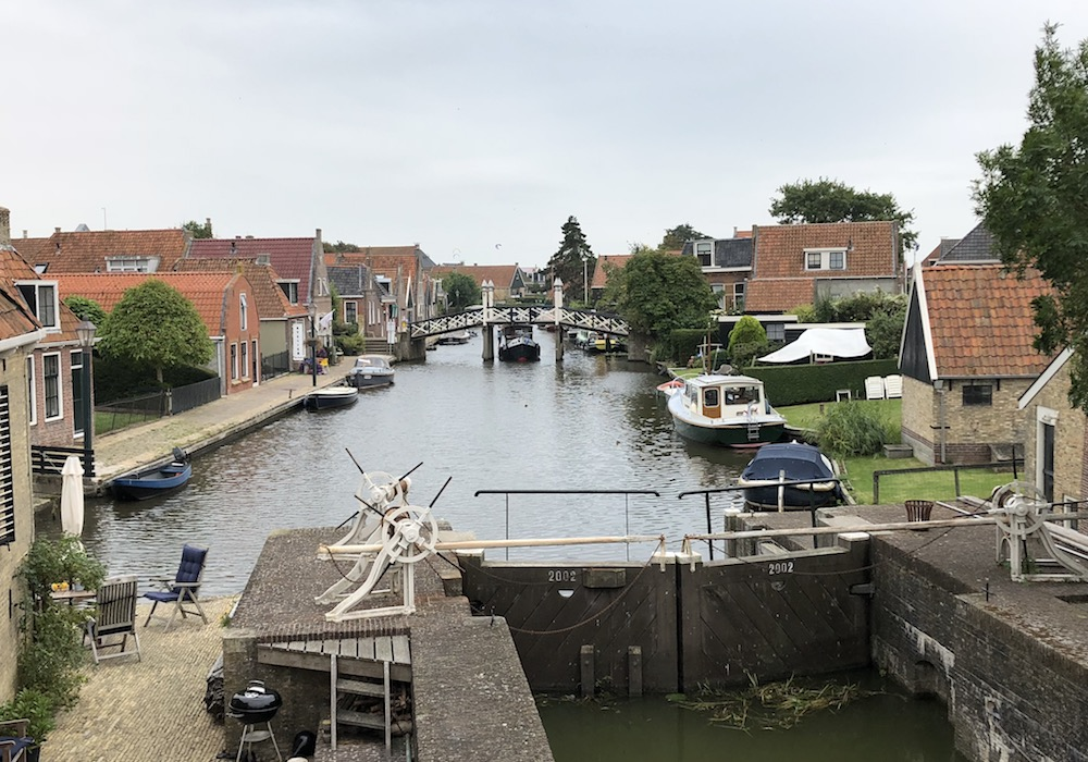 Fonteinen in Friesland - Hindeloopen 01