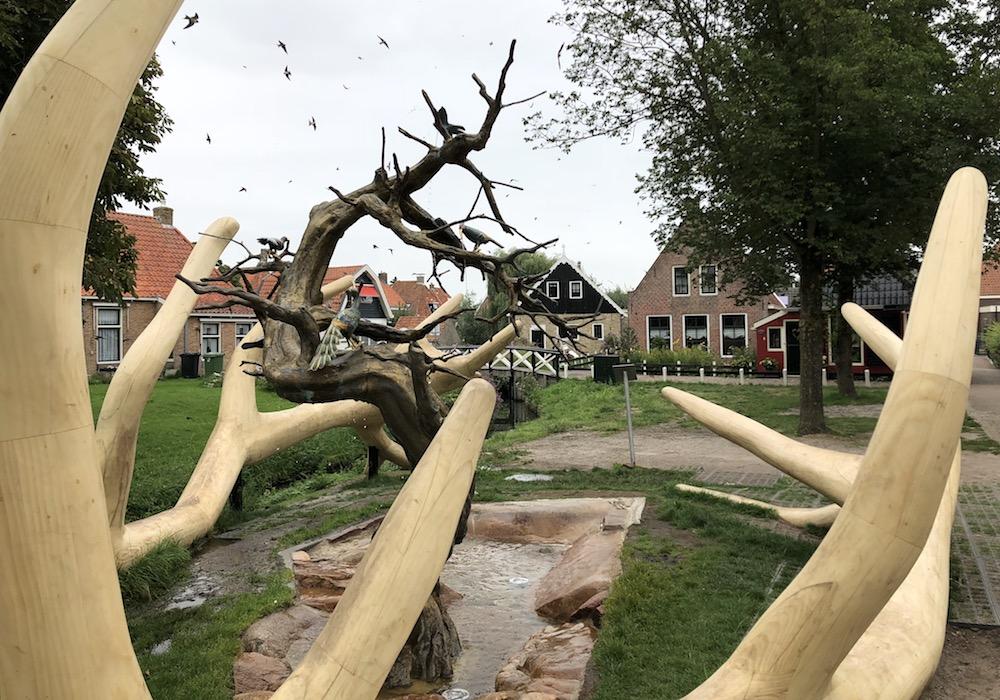 Fonteinen in Friesland - Hindeloopen 03