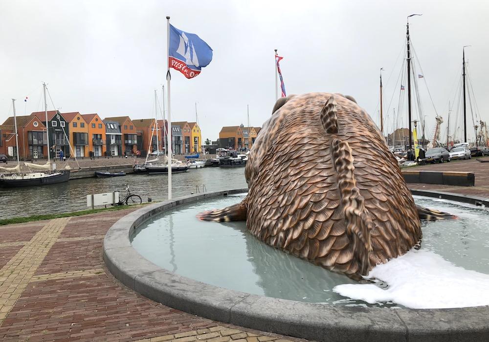 Fonteinen in Friesland - Stavoren 01