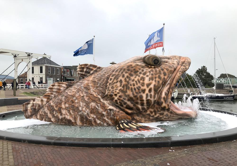 Fonteinen in Friesland - Stavoren 02