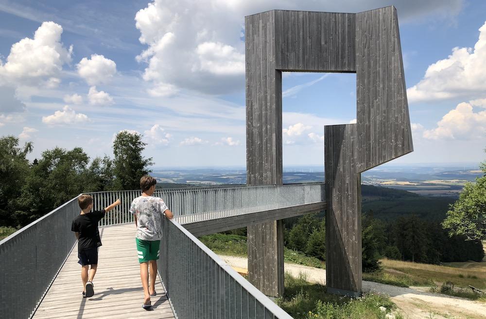 Zomerrodelbaan Erbeskopf - wildklangskulptur 01