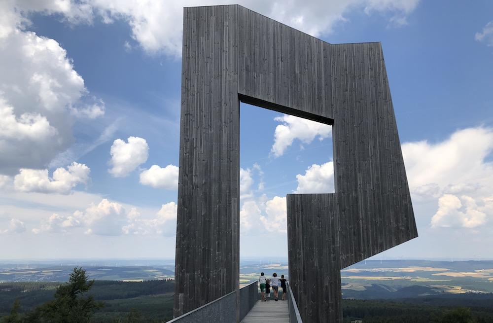 Zomerrodelbaan Erbeskopf - wildklangskulptur 03