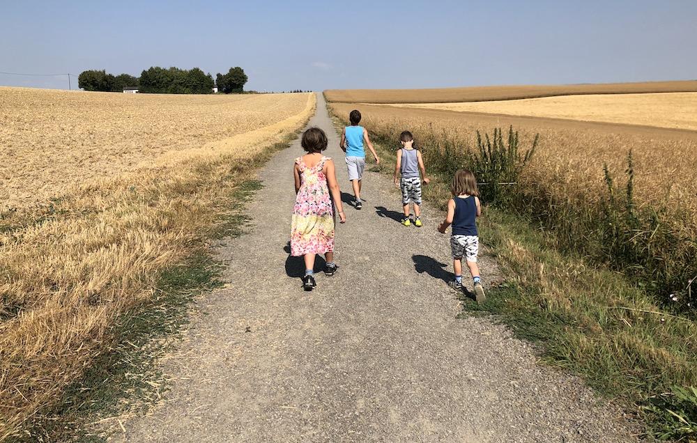 Geierlay hangbrug met kinderen 02