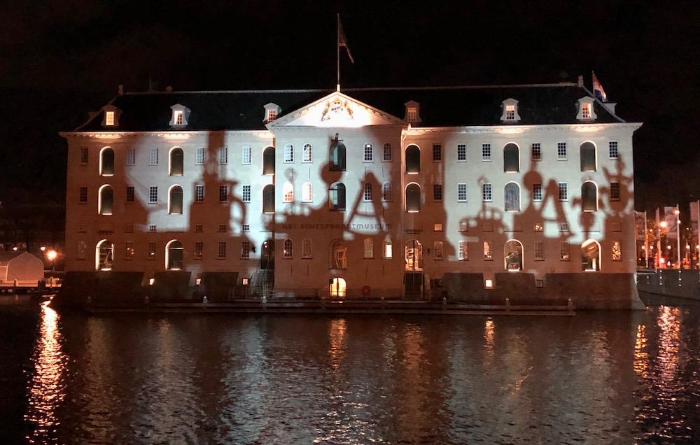 Amsterdam Light Festival wandelroute 04