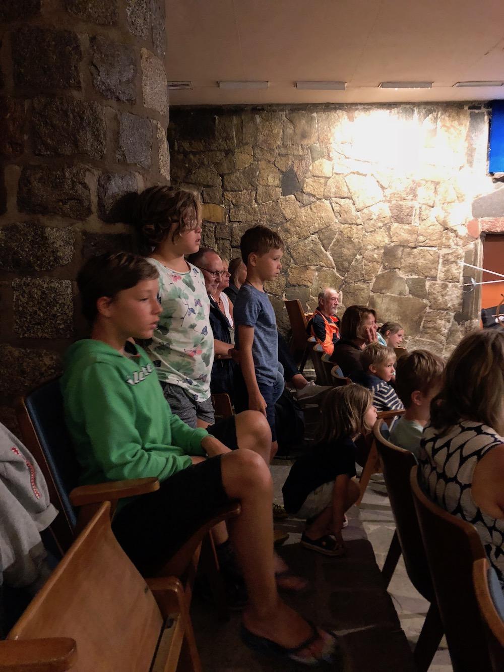 Met kinderen in Vogelburg 12