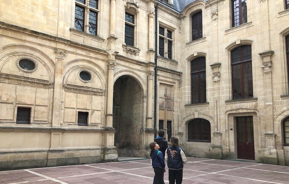 Caen met kinderen 03