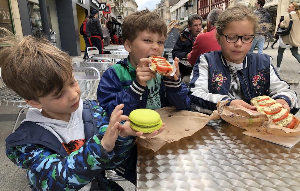Caen met kinderen 17