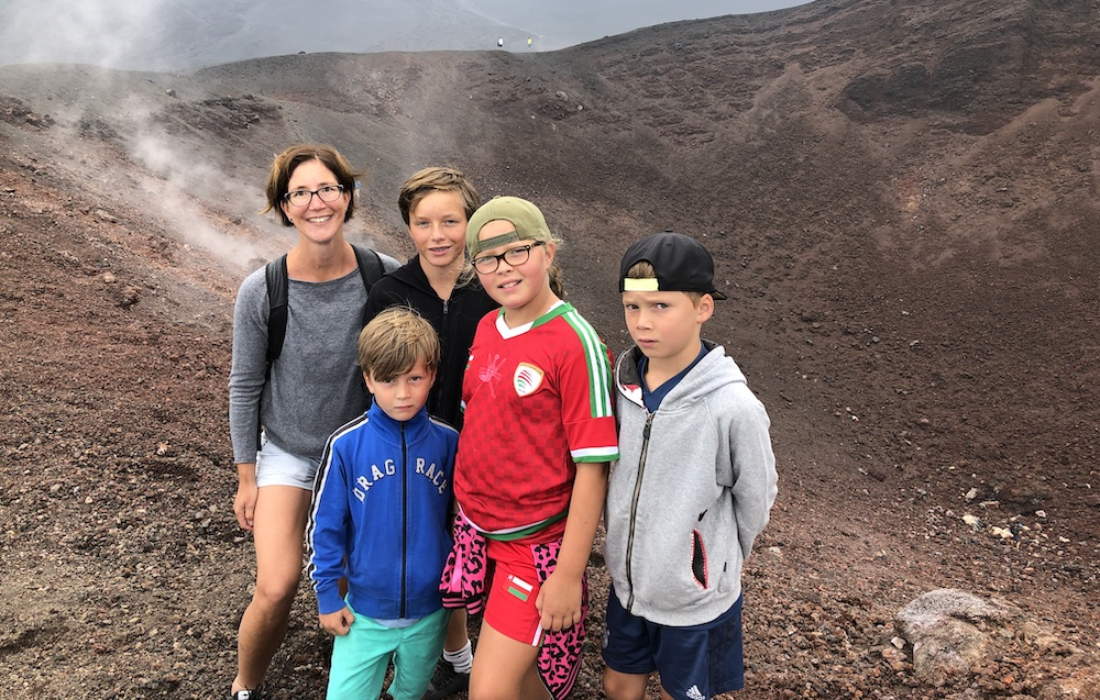 Etna met kinderen 07