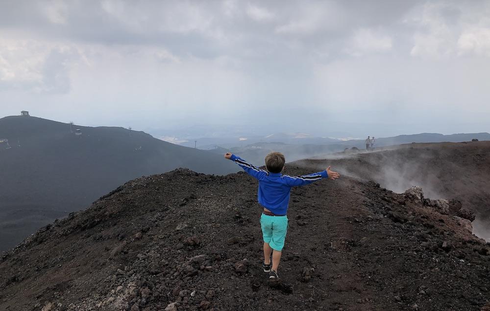 Etna met kinderen 10