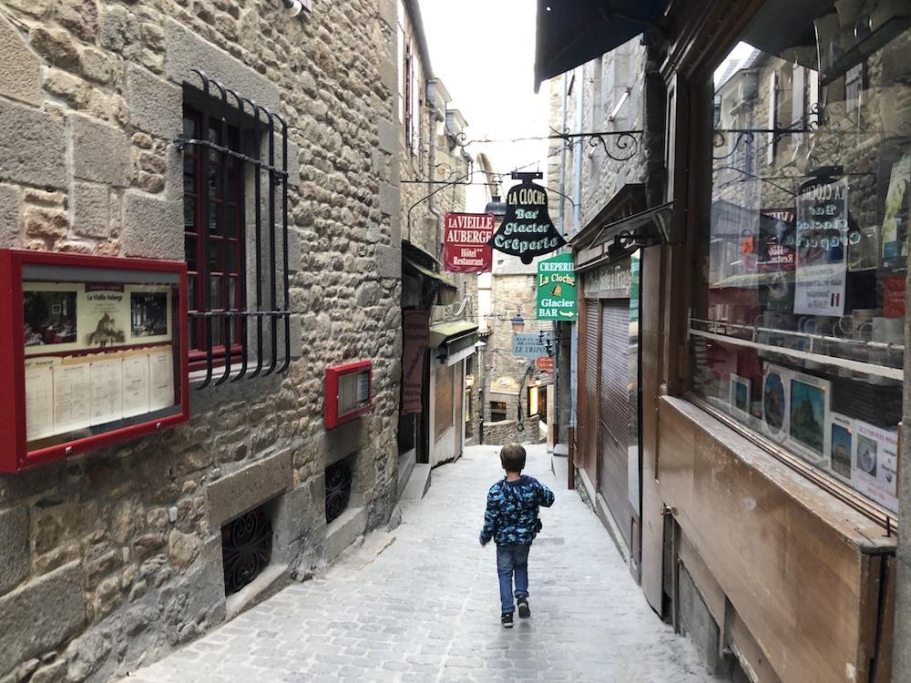 bezoek aan mont saint-michel met kinderen 02