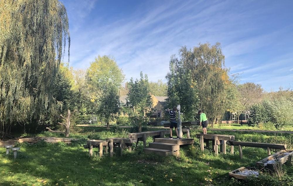 spelen in de natuur rond Schiedam 05