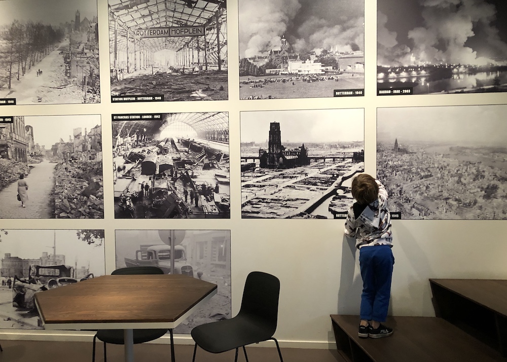 Met kinderen naar Museum 40-45 in Rotterdam 01