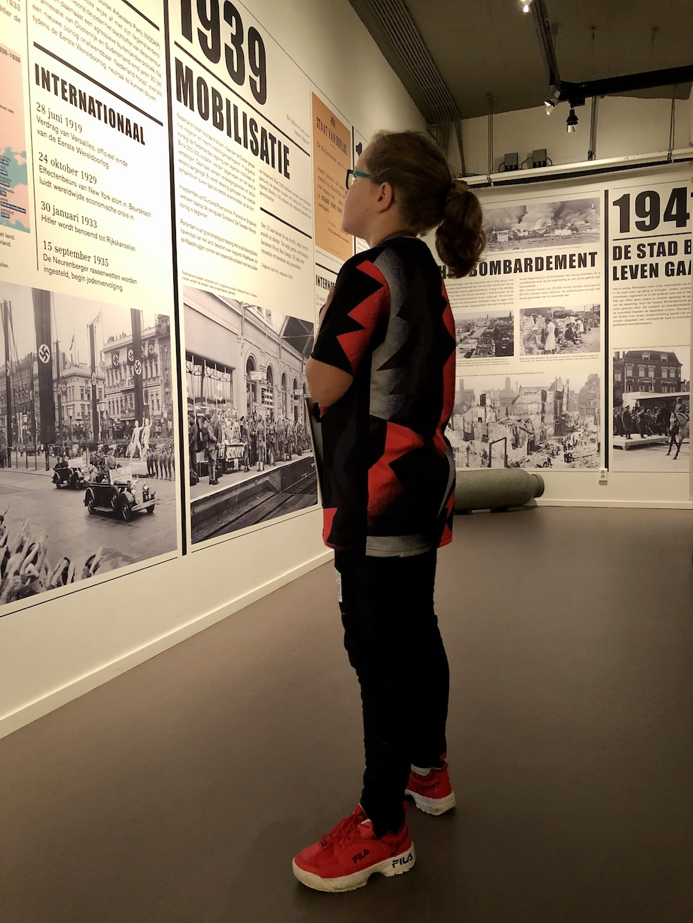Met kinderen naar Museum 40-45 in Rotterdam 03