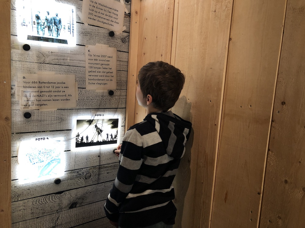 Met kinderen naar Museum 40-45 in Rotterdam 14
