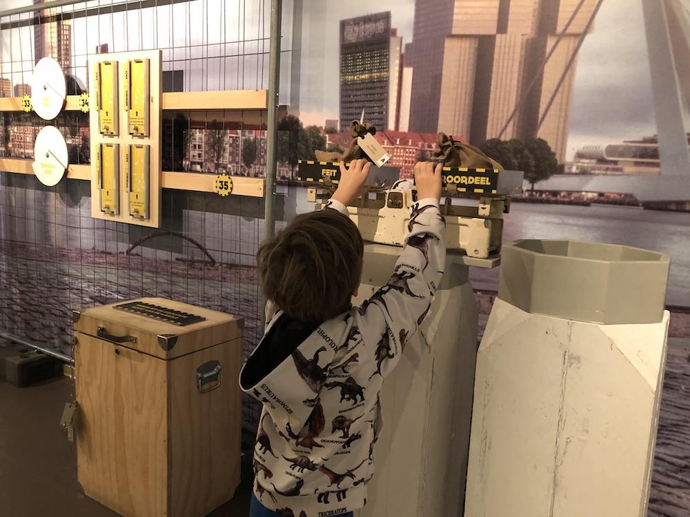 Met kinderen naar Museum 40-45 in Rotterdam 16