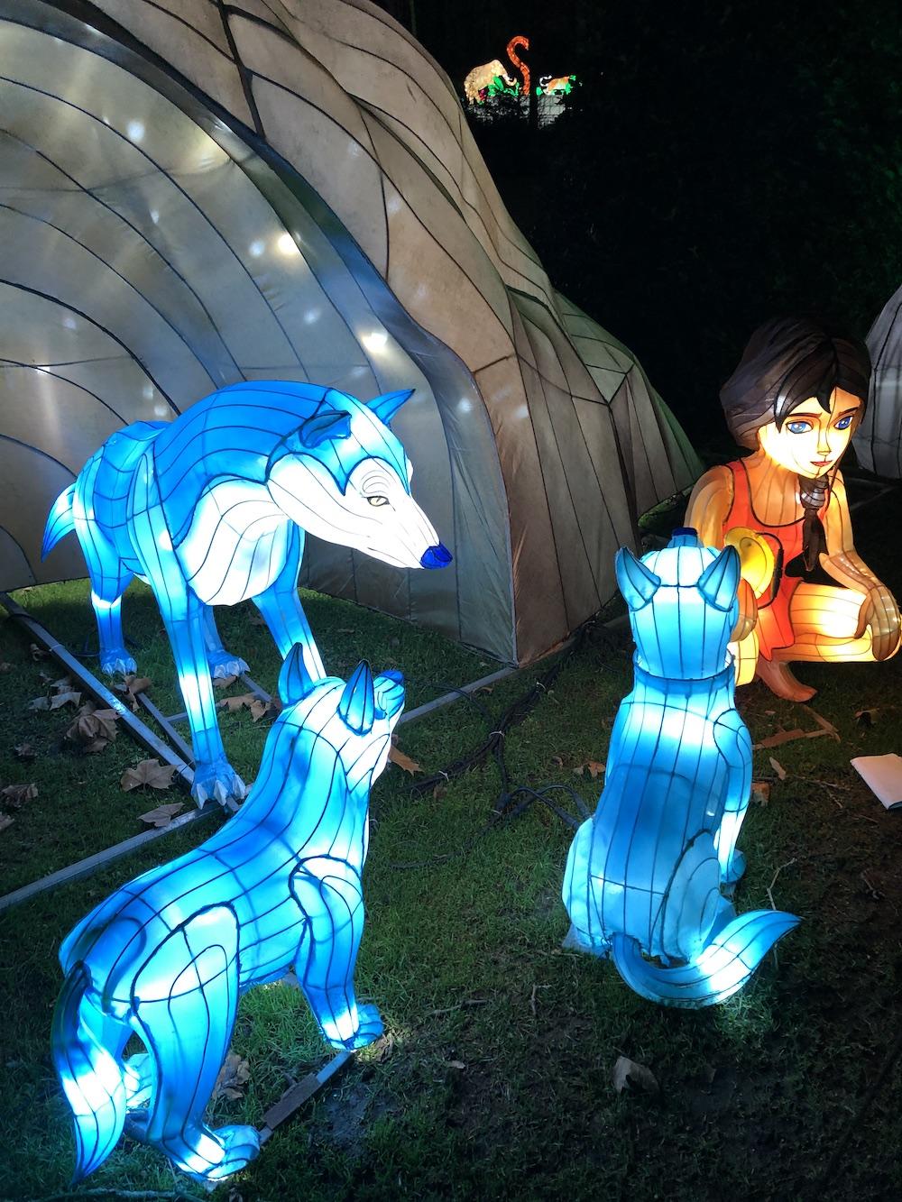 China Light Festival in de dierentuin van Antwerpen met kinderen 02