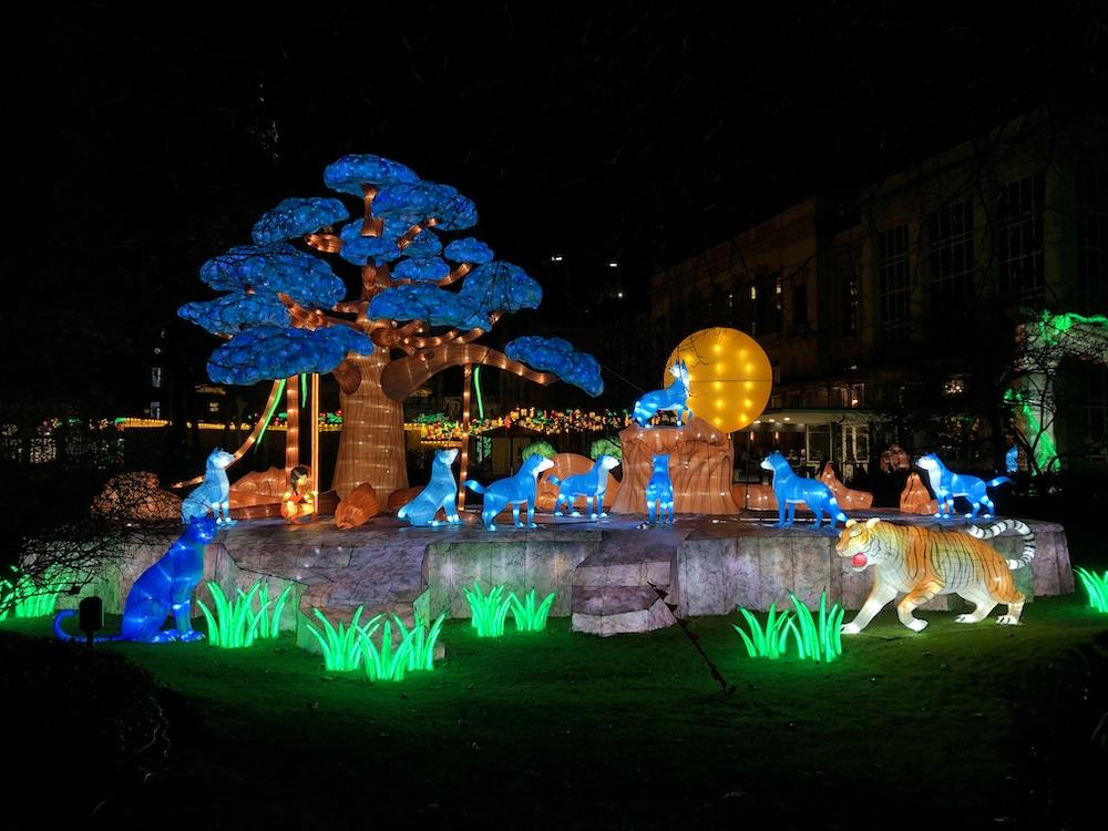 China Light Festival in de dierentuin van Antwerpen met kinderen 03