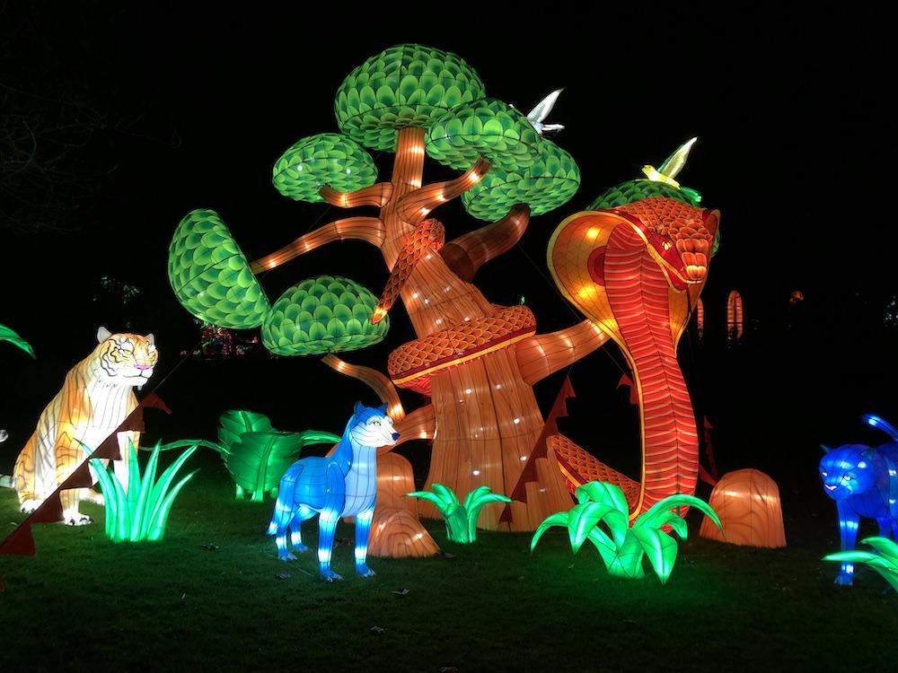 China Light Festival in de dierentuin van Antwerpen met kinderen 05