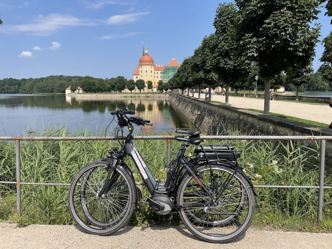 Fietsen langs de Elbe van Dresden naar Meissen via Schloss Moritzburg 04