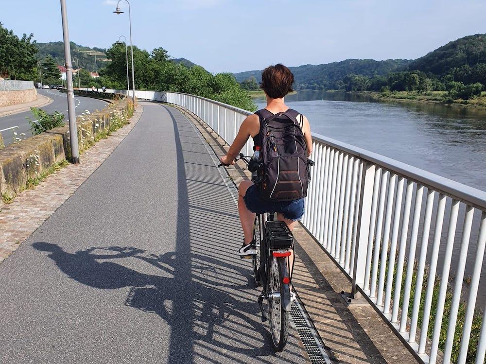 Fietsen langs de Elbe van Dresden naar Meissen via Schloss Moritzburg 03