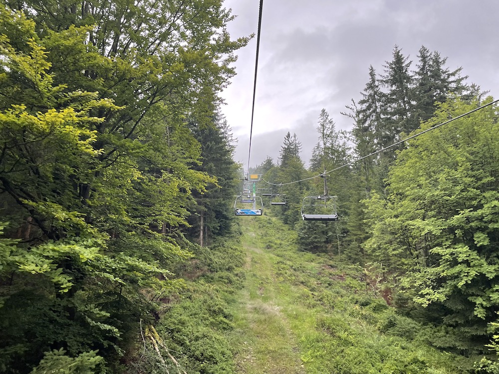 Wandelen in skigebied Špindlerův Mlýn 01