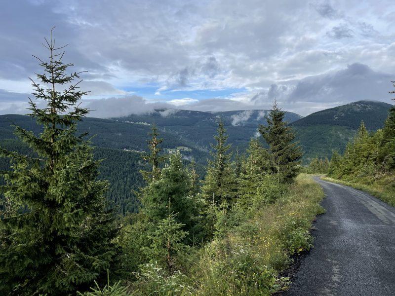 Wandelen in skigebied Špindlerův Mlýn 05
