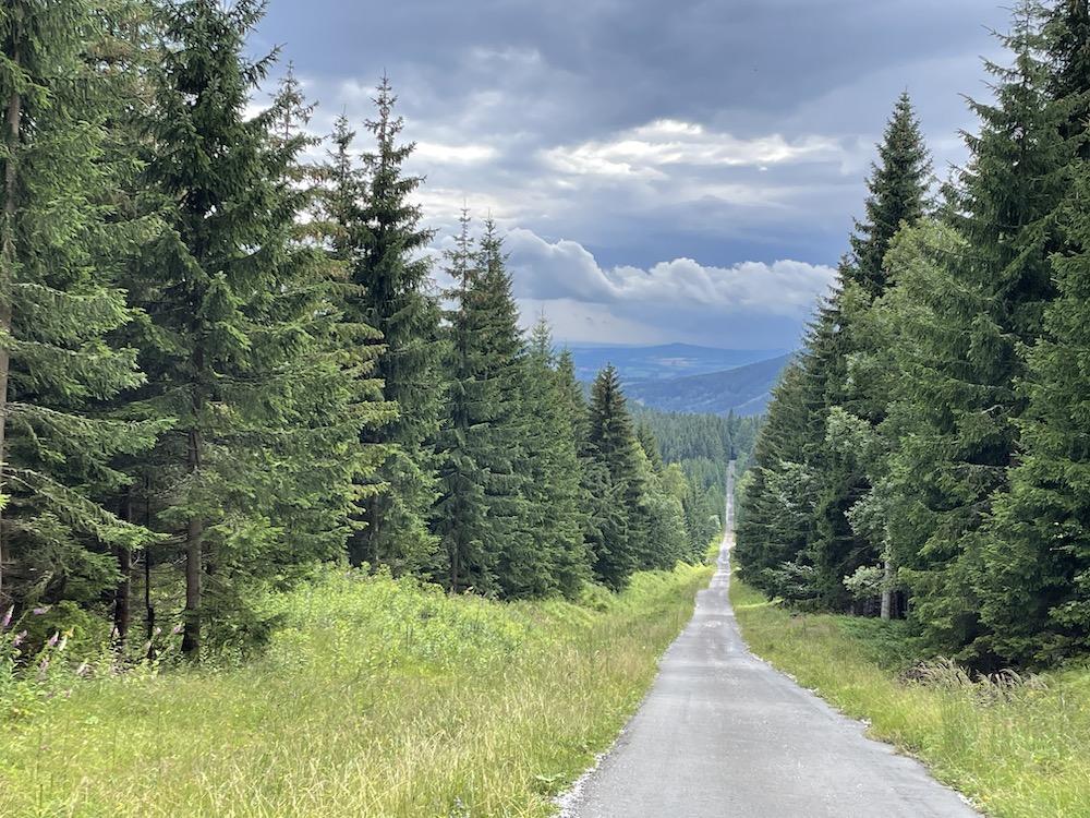 Wandelen in skigebied Špindlerův Mlýn 09